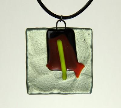 Висулка - Огънят в камината